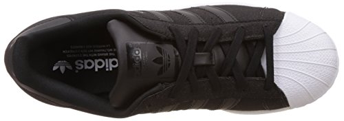 adidas Superstar W Scarpe Sportive, Donna Nero / Bianco (Negbas / Negbas / Ftwbla)