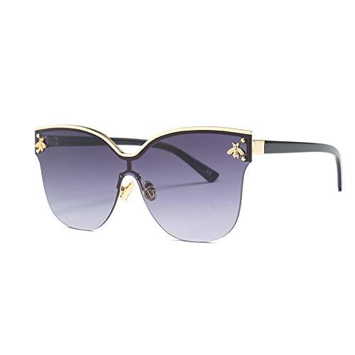 JWR Sonnenbrille Frauen Mode Katzenauge Biene Sonnenbrille Weiblich Retro UV400,c6