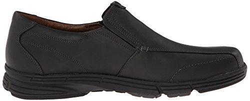 Dunham Men's Revsaber Slip-On Loafer,Black,10 2E US Black