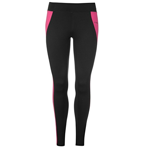 LA Gear Femmes Leggings Collant de fitness Noir/rose