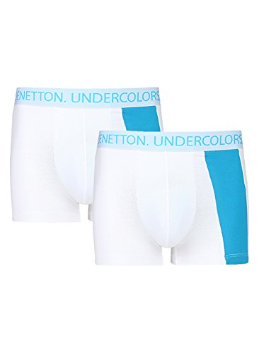 United Colors Of Benetton Men's Cotton Trunk- Assorted*- (pack Of 2) 202di Color Dispatch Random*