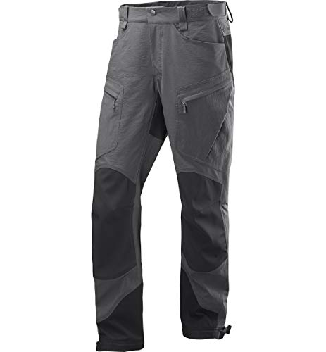 b3f9526b59312 Haglöfs Men's Rugged Mountain Trousers, Magnetite/True Black, M