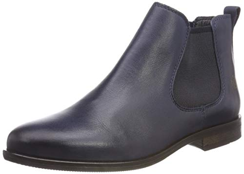 Apple of Eden Damen Manon Chelsea Boots, Blau (Dk Blue 8), 40 EU