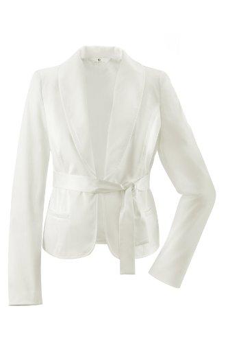 bellybutton Damen Blazer 3737-00-91100 Weiß (champagne)