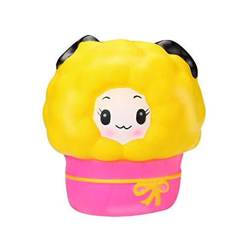 Mitlfuny Kawaii Langsam Dekompression Creme Duftenden Groß Squishy Spielzeug Squeeze Spielzeug,Prinzessin Sheep Scended Squishies - Langsam steigender Squeeze Toys - ()