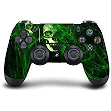 Custom PS4 Controller Green Skull - Custom-ps4-controller