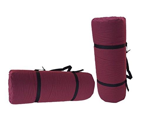 Tragbare Futon Bordeaux, 200x80x3 cm Yoga-futon