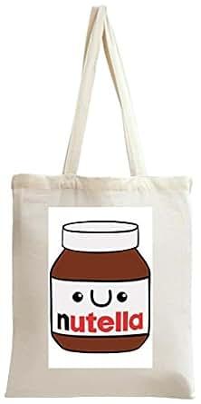 Cute Nutella Tote Bag
