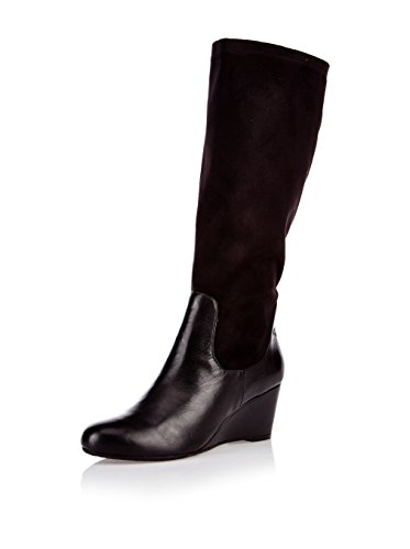 GERRY WEBER Shoes Jeanette 05 Damen Langschaft Schlupfstiefel Schwarz