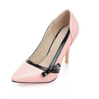Moda Donna Sandali Sexy donna tacchi Primavera / Estate / Autunno tacchi PU Esterni / abito / Casual Stiletto Heel altri nero / rosa / Bianco Altri Pink