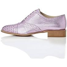 FIND Zapatos de Piel estilo Óxford para Mujer