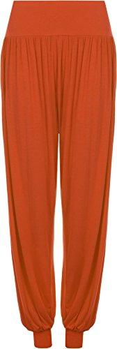WearAll - Pantalon 'harem' bouffant - Pantalons - Femmes - Tailles 36 à 42 Rouille