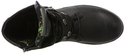 REPLAY Discret, Stivali da Motociclista Donna Nero (Black)