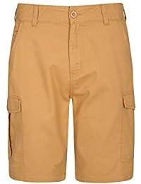 896177e40d31 Mountain Warehouse Lakeside Mens Shorts - 100% Durable Twill Cotton Cargo  Shorts