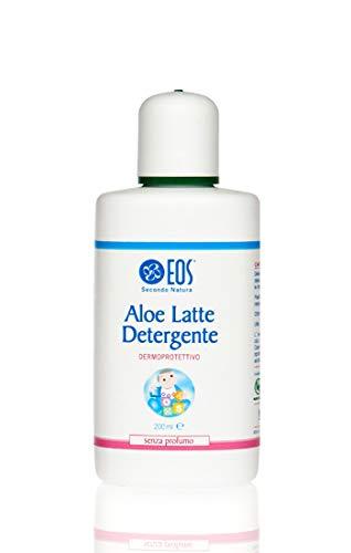 Aloe Latte Detergente 200 ml - Eos Natura Delicato senza profumi Bebè