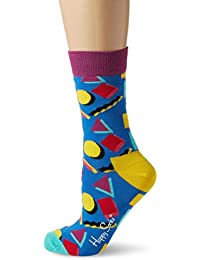 Happy Socks Nineties Sock, Calcetines para Mujer, Multicolor, 36-40