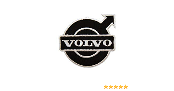 Patchmania Volvo Logo 3 Sew On Patch Embroidered Patches Iron On Küche Haushalt