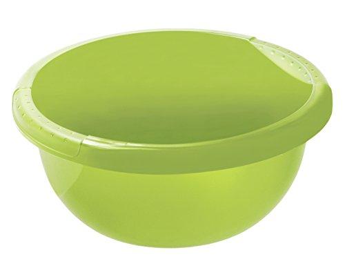 Rotho Daily Becken/Spülwanne 4 l, Kunststoff (PP), grün, 4 Liter  (29 x 29 x 12 cm)