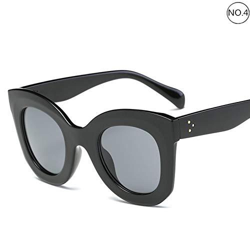 KCJKXC Vintage Frauen Männer Sonnenbrillen Cat Eye Sonnenbrillen Gläser Schmuck Zubehör