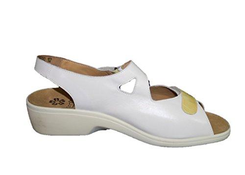 Ganter Damen Schuhe Sandalen Weiß