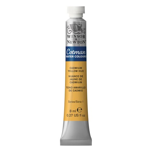 Tubos De Pintura Winsor & Newton Cotman Agua Color Amarillo De Cadmio [hue] 8ml