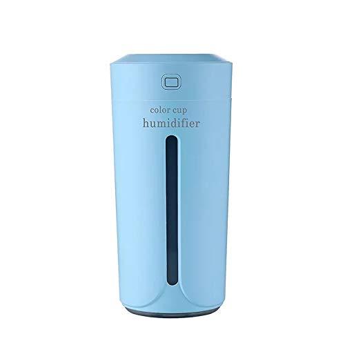 230ml Diffuseur d'Huiles Essentielles Humidificateur d'air Portable Ultrasonique Brume Fraîche Arôme avec 7-Couleurs Changeantes, SPA, Massage, Yoga, Bureau