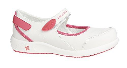 Oxypas Nelie, Women's Safety Shoes, White (Wht),7 UK(41 EU) Bianco (FUX)