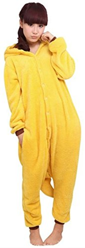 Tutina-WOWcosplay-Kigurumi-Giappone-Apple-Pikachu-Pokemon-Kigurumi-pigiama-felpa-con-cappuccio-pigiama