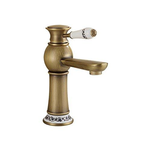 Yushi rubinetti, bagno rubinetti, rame, oggetto d'antiquariato europeo, calda e acqua fredda, monocomando monoforo