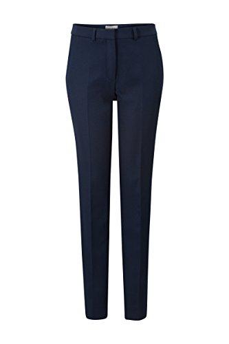 Business Anzug Hose (Promiss Damen Hosen Einfarbig Pat Long A Elegant Business Anzug Tapered-fit Stretch Blau, 038)
