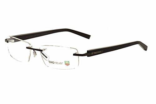 f131e2de1d Tag Heuer 8104 tendencias del hombre sin borde – funda de gafas Negro negro