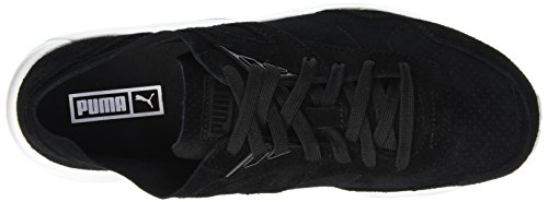 Puma Ftrack R698 Soft Pack, Baskets Basses Mixte Adulte Noir (Black/Silver/White)