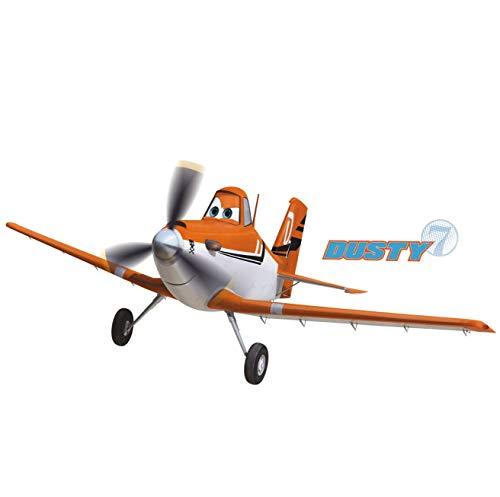 RoomMates 22890 - Disney Planes Dusty Riesen-Wandtattoo/Sticker, geblistert, 174 x 63 cm - 2 Riesen Poster