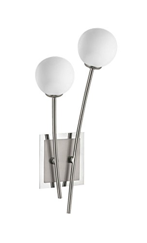 Wandleuchte Fischer M6 Mini Modular Glas-Kugel Weiß Spotlampe (Mini-kugel-leuchten)