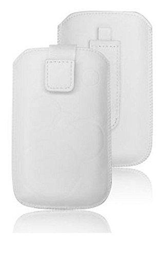 Handytasche Deko für Samsung Galaxy J3   J3 (2016)   J3 (2017) weiss Handy Tasche Schutz Hülle Slim Case Cover Etui Soft Case