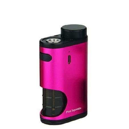 Eleaf - Pico Squueze potenza 50w Box elettronico per sigaretta elettronica senza nicotina con connettore 510 e batteria 18650 ad alto scarico (Rosa)