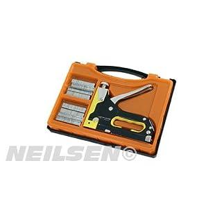 Neilsen CT1609 Heavy Duty Staple Gun Stapler Upholstery Wood