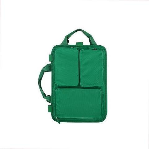 Moleskine Oxide Green Bag Organiser - Laptop 13.5