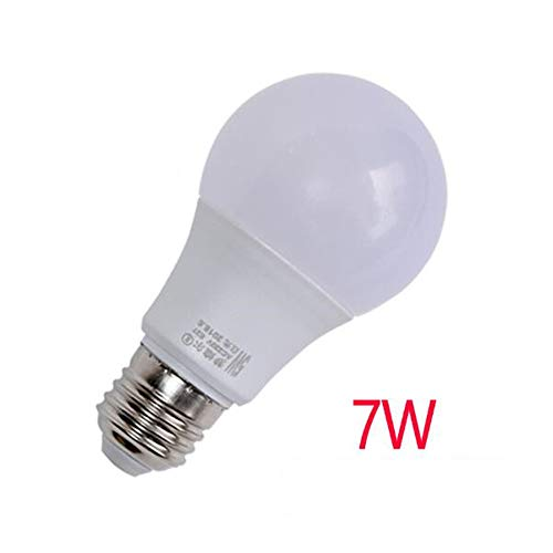 Lampada da tavolo multi-style a luce calda, bianca, naturale Lampada a luce sferica 3W, 5W, 7W E14 (piccola vite) luce naturale 60 * 108mm
