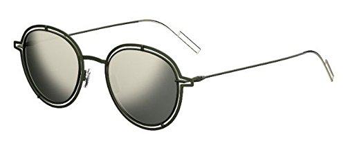 Safilo Design (Christian Dior - DIOR 0210S, Rund, Metall, Herrenbrillen, RUTHENIUM/BEIGE MIRROR(GIG/UE A), 49/22/150)