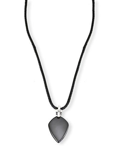 Morellato collana con pendente, uomo, acciaio