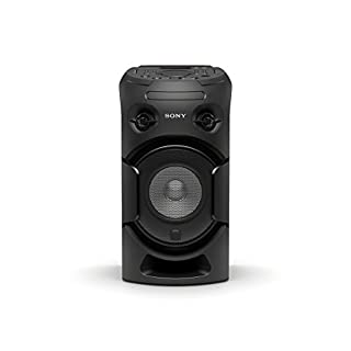 Sony MHC-V21D  High Power Party Audio Musiksystem (Lichteffekte, Bluetooth, NFC, USB, CD/DVD, HDMI)