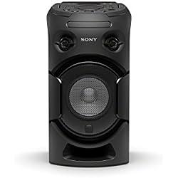 Sony MHC-V21D 1Système de composants de Musique avec Bluetooth/NFC, CD/DVD, USB et HDMI, Noir