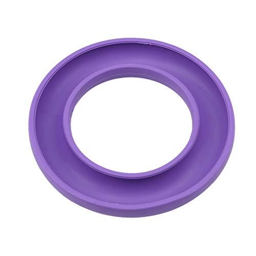 kemai Flexible Bobbin Ring Sewing Bobbins Aufbewahrungsbox Nähkoffer Container Sewing Storage Tools, lila