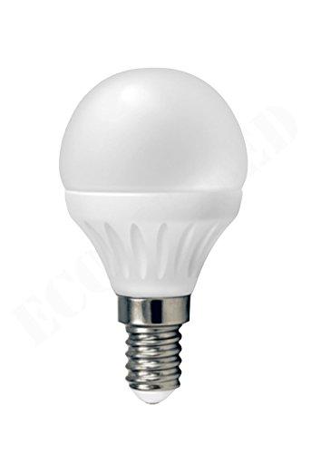 V-TAC LED Leuchtmittel G45 4 W 350 Lumens ersetzt 30 W E14 Base, 4500 K, neutralweiß, nicht dimmbar, Abstrahlwinkel: 200, CE, EMC, RoHS (Drehen, Sah)
