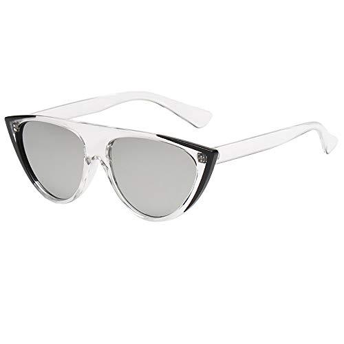 REALIKE Unisex Sonnenbrille Übergroße Sonnenbrille Vintage Katzenauge Brille Sonnenbrille Mode Super Coole Damenbrillen Frauen Women Cat Eye Sunglasses Travel Eyewear