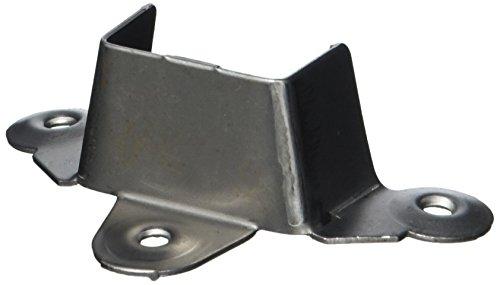 HSI 609405.0 Lattenrosthalter Eisen blank 92x32x29mm 4 St, 4 Stück