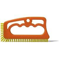 """Fugenial """"Fuginator®"""" Spazzola per fughe tra le piastrelle - Per pulire efficacemente le fughe ed eliminare la muffa superficiale - Setole gialle (pulizia bagno)"""