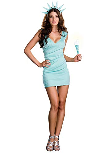 Miss Liberty Women's Fancy Dress Costume Small
