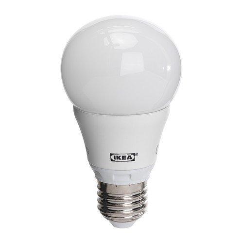 Ikea - Bombilla led 'ledare' led iluminación led bombilla balnco cálido - e27 - 7, 5w - 400 lm (cumple. aproximadamente 40w)-2700 kelvin)